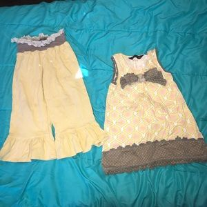 Mustard Pie Matching Sets - Mustard pie outfit set